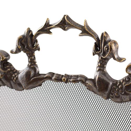 Решетка каминная Alberti Livio Дракон, фото