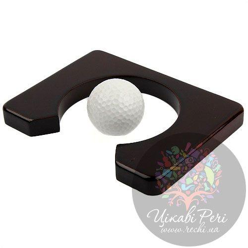 Офис-гольф Z.F.Golf в деревянном кейсе, фото