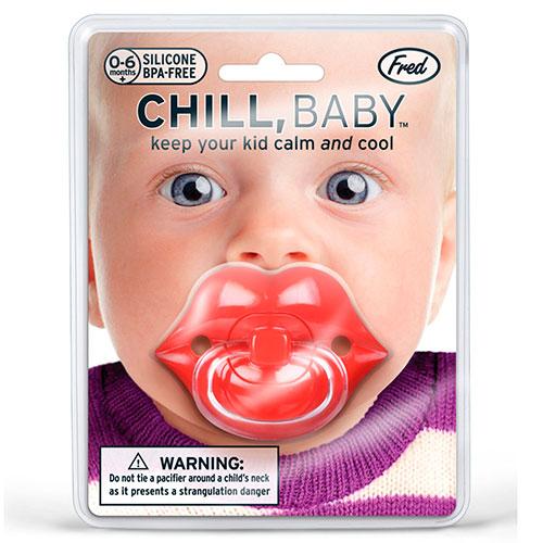 Детская пустышка Fred and Friends в виде губ, фото