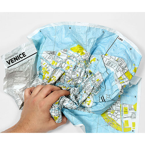 Мятая карта Palomar Madrid, фото