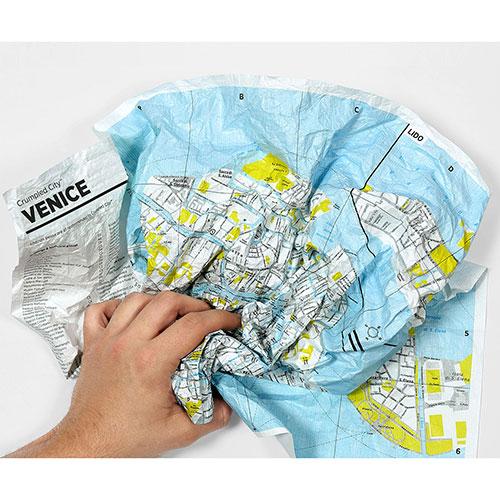 Мятая карта Palomar Milan, фото