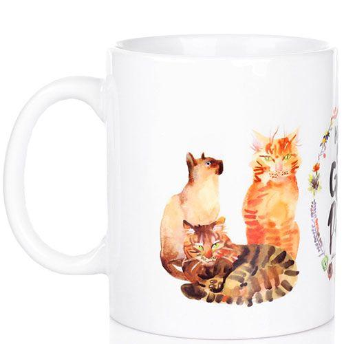 Чашка Happy Paw Get a Cat by Маричка Рубан, фото
