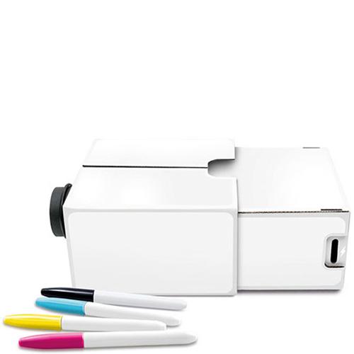 Проектор-раскраска для смартфона Luckies с маркерами в наборе, фото