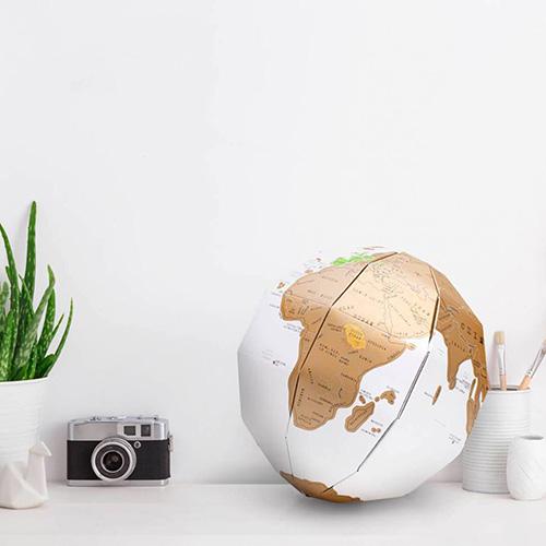 Скретч глобус Luckies 3D World Map Scratch Globe, фото