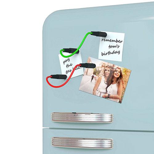 Магниты на холодильник Rocket в виде шнуров, фото