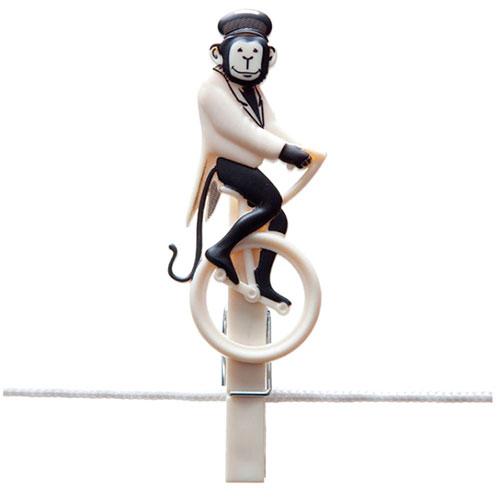 Набор прищепок Monkey Business Pegzini Family, фото