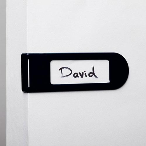 Дверная бирка Monkey Business Doortag черная, фото