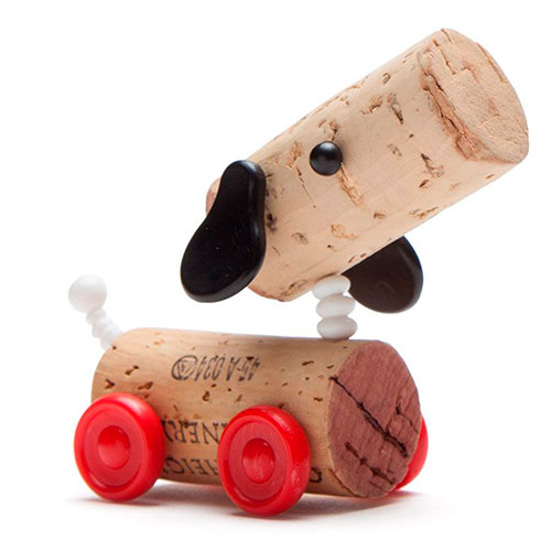 Набор украшений для пробки Monkey Business Dog Ralf Corkers Classics, фото