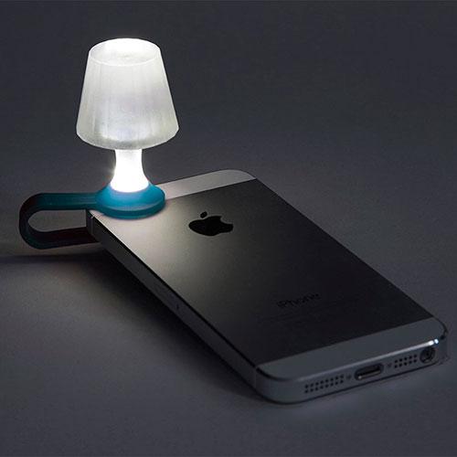 Мини-ночник для смартфона Peleg Design Luma синий, фото