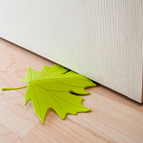 Фиксатор для двери Qualy Autumn зеленого цвета, фото