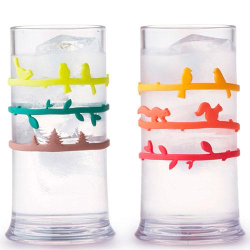 Набор маркеров для стаканов Qualy Bandscape, фото