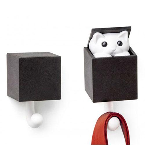 Настенный крючок Qualy Kitt-a-boo, фото