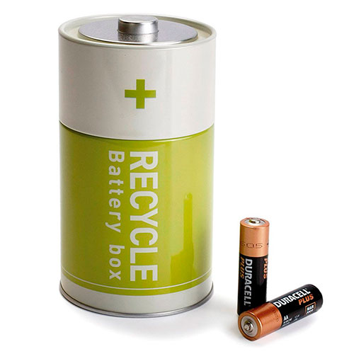 Контейнер для батареек Monkey Business Battery Box, фото
