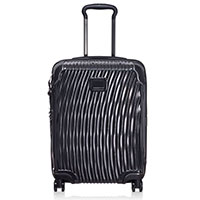Черный чемодан 55х40х20см Tumi Latitude International Slim Carry-On, фото