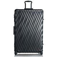 Черный чемодан 86,5х56х32см Tumi 19 Degree Aluminum Matte Black Worldwide, фото