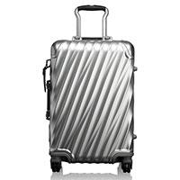 Серебристый чемодан Tumi 19 Degree Aluminium Carry-On 56х35,5х23см, фото