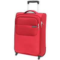 Красного цвета чемодан 55х35х20см March Carter SE размера ручной клади, фото