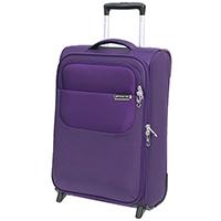 Чемодан маленького размера 55х35х20см March Carter SE в фиолетовом цвете, фото