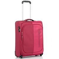 Маленький чемодан красного цвета 55х40х20см Roncato Roma на 2х колесах, фото