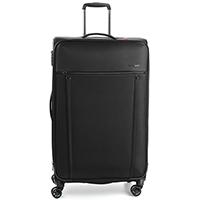 Большой черный чемодан 80x48x30-34см Roncato Zero Gravity с функцией расширения, фото