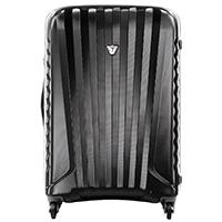 Черный большой чемодан 78х50х30см Roncato Uno Zip с кодовой блокировкой TSA, фото