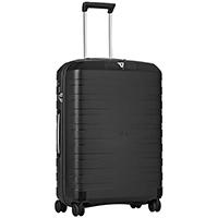Среднего размера черный чемодан 69x46x26см Roncato Box с замком TSA, фото