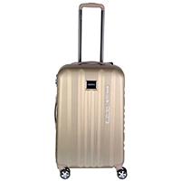 Бежевый чемодан 65x26x40см March Fly среднего размера с замком блокировки TSA, фото