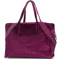 Дорожная сумка Ermanno Ermanno Scervino Daria с эффектом плетения, фото