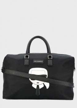 Дорожная сумка Karl Lagerfeld K/Ikonik с рисунком , фото