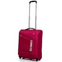 Малый чемодан на 2-х колесах 55х40х20-23см Roncato Jazz вишневого цвета, фото