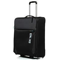 Большой дорожный чемодан 78х48х29-32см Roncato Speed черного цвета, фото