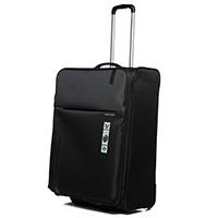 Дорожный чемодан среднего размера 67х44х27-31см Roncato Speed черного цвета, фото