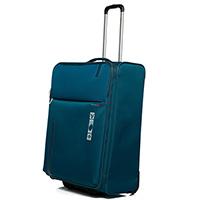 Среднего размера дорожный чемодан 67х44х27-31см Roncato Speed синего цвета, фото