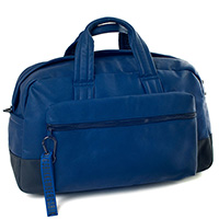 Синяя дорожная сумка Bikkembergs, фото
