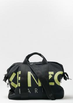 Дорожная сумка Kenzo с фирменной надписью, фото