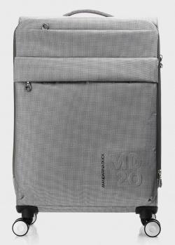 Серый чемодан Mandarina Duck MD 20 Lux 67х43х25,5см, фото