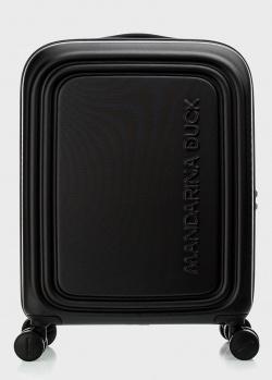 Черный чемодан Mandarina Duck Logoduck 55х40х20см, фото