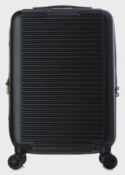 Черный чемодан Mandarina Duck Tank 35х55х23см, фото
