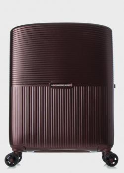 Бордовый чемодан Mandarina Duck Aircase 40х55х20см, фото