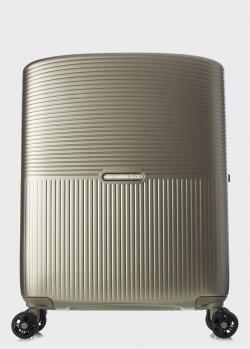 Золотистый чемодан Mandarina Duck Aircase 40х55х20см, фото