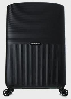 Черный чемодан Mandarina Duck Aircase 69x45x31см, фото