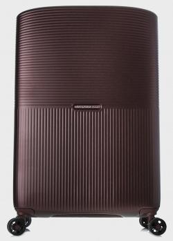 Бордовый чемодан Mandarina Duck Aircase 75х49х33см, фото
