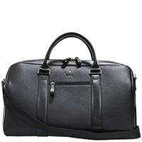 Дорожная сумка Amo Accessori Grande Voyage черного цвета, фото