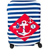 Чехол для чемодана BG Berlin Navy Sense L, фото