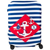 Чехол для чемодана BG Berlin Navy Sense M, фото