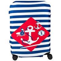 Чехол для чемодана BG Berlin Navy Sense S, фото