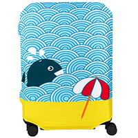 Чехол для чемодана BG Berlin Light Whale M, фото