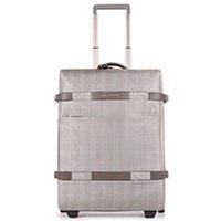 Дорожный чемодан Piquadro Move 55х40х21см серого цвета, фото