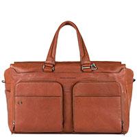 Дорожная сумка Piquadro Bagmotic в коричневом цвете, фото