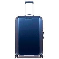 Чемодан Piquadro Cubica 68х46х28см синего цвета, фото